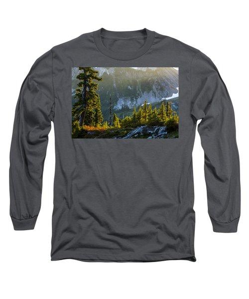 Long Sleeve T-Shirt featuring the photograph Rare Sunset by Albert Seger