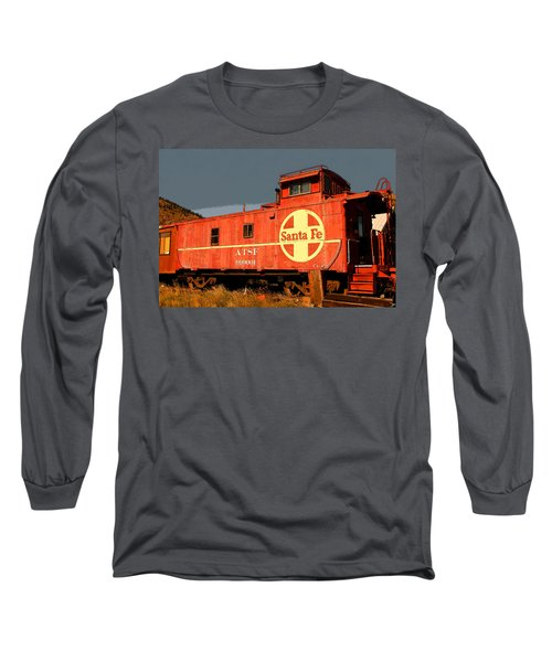 Red Caboose Long Sleeve T-Shirt