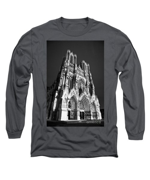 Reims Cathedral Long Sleeve T-Shirt
