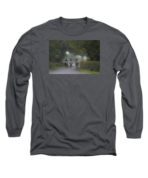 Riding In Tandem Long Sleeve T-Shirt