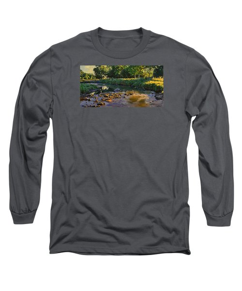 Riffles - First Light Long Sleeve T-Shirt by Bruce Morrison