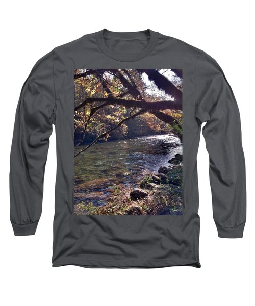Long Sleeve T-Shirt featuring the photograph Rivee View by Janice Spivey