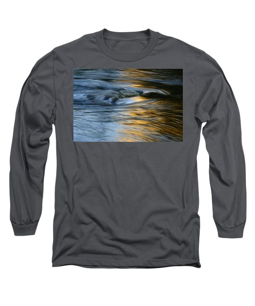 Rock And Blue Gold Water Long Sleeve T-Shirt