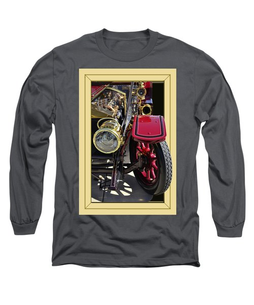 Long Sleeve T-Shirt featuring the photograph Rolls Out by Larry Bishop