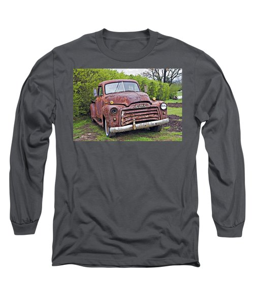 Sad Truck Long Sleeve T-Shirt