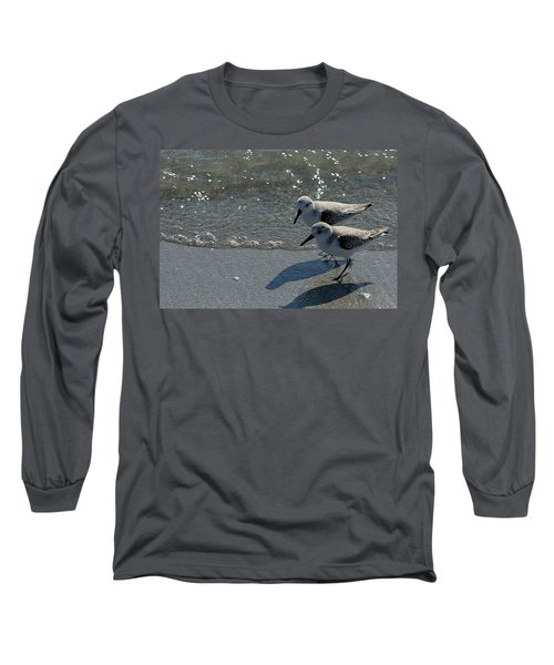 Sandpiper 5 Long Sleeve T-Shirt by Joe Faherty