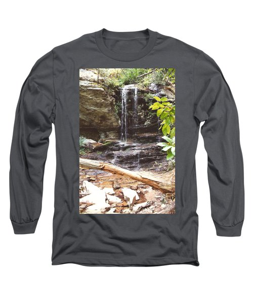 Scenic Waterfall Long Sleeve T-Shirt