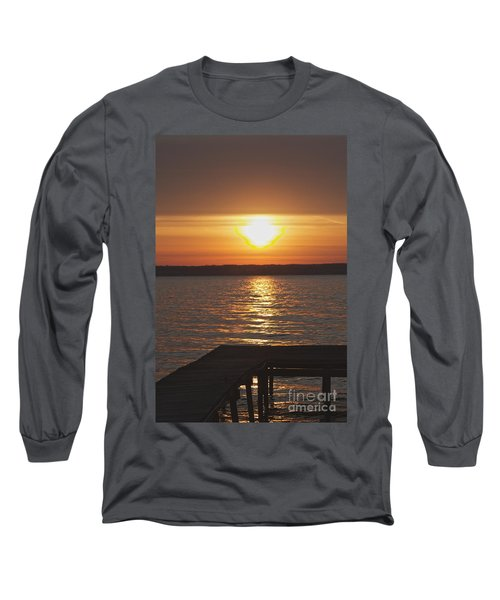 Long Sleeve T-Shirt featuring the photograph Seneca Lake by William Norton