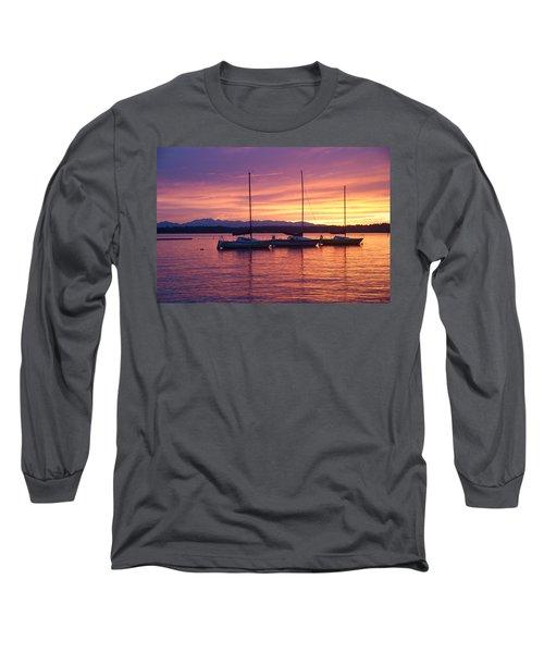 Serene Sunset Long Sleeve T-Shirt