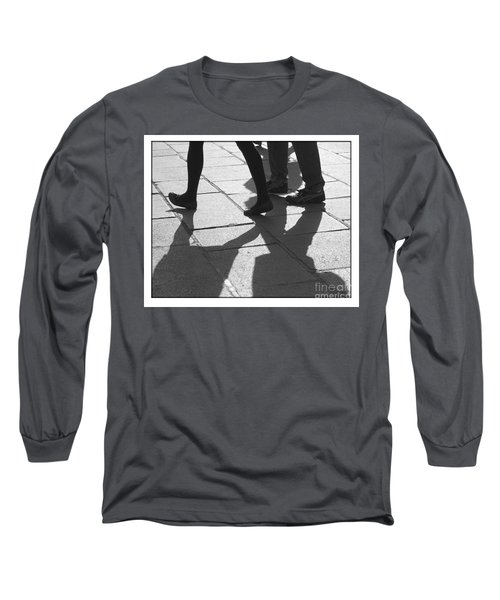 Long Sleeve T-Shirt featuring the photograph Shadow People by Victoria Harrington