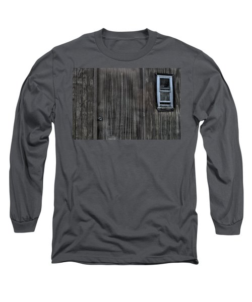 Long Sleeve T-Shirt featuring the photograph Shed by Zawhaus Photography