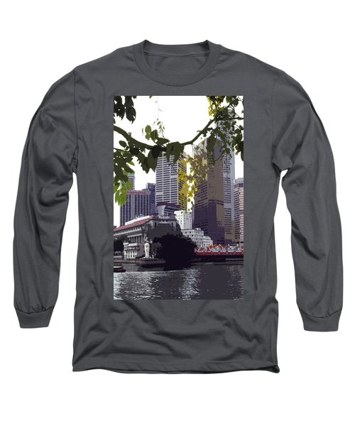 Singapore ... The Lion City  Long Sleeve T-Shirt