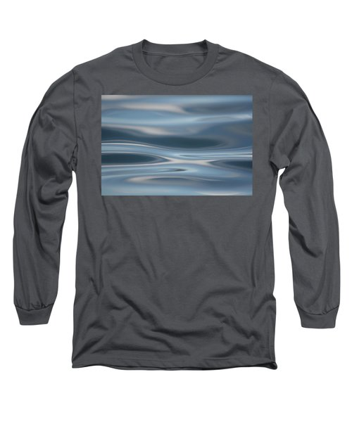 Sky Waves Long Sleeve T-Shirt by Cathie Douglas