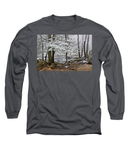 Smoky Mountain Stream Long Sleeve T-Shirt