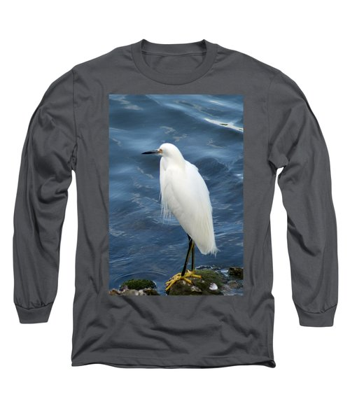 Snowy Egret 1 Long Sleeve T-Shirt