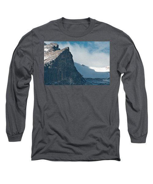 Long Sleeve T-Shirt featuring the photograph Snowy Flatirons by Colleen Coccia