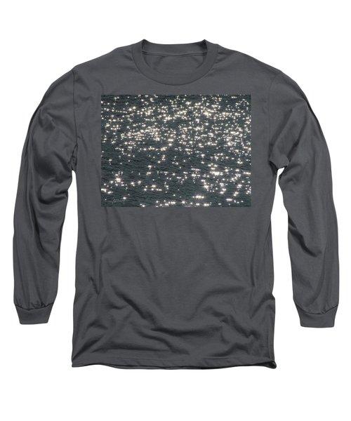Shining Water Long Sleeve T-Shirt by Maciek Froncisz