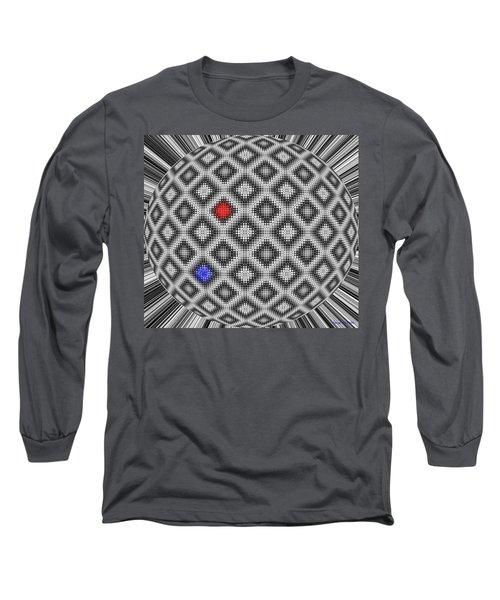 Long Sleeve T-Shirt featuring the digital art Sphere Number 10 by George Pedro