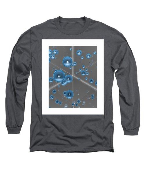 Long Sleeve T-Shirt featuring the digital art Spheres... by Tim Fillingim