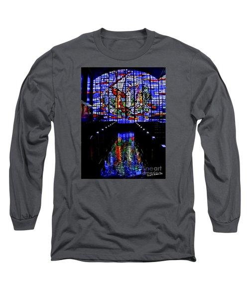 House Of God - Spiritual Awakening Long Sleeve T-Shirt by Carol F Austin