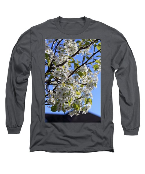 Long Sleeve T-Shirt featuring the photograph Spring Blooms by Kay Novy