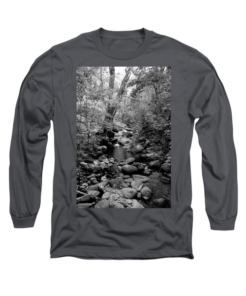 Spring Creek Long Sleeve T-Shirt by Kathleen Grace
