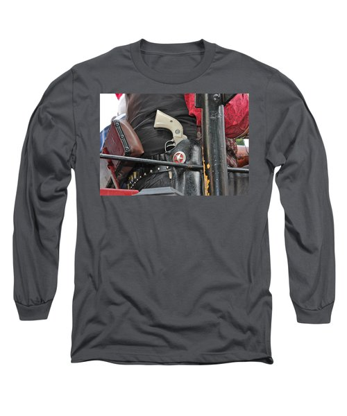 Long Sleeve T-Shirt featuring the photograph Stagecoach Guard by Bill Owen