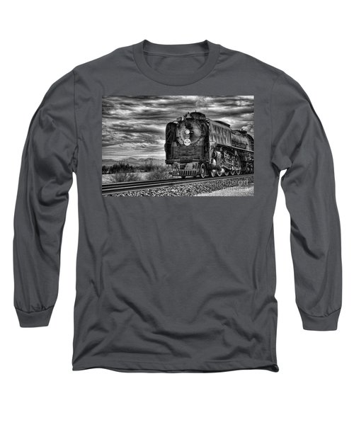Steam Train No 844 - Iv Long Sleeve T-Shirt by Donna Greene