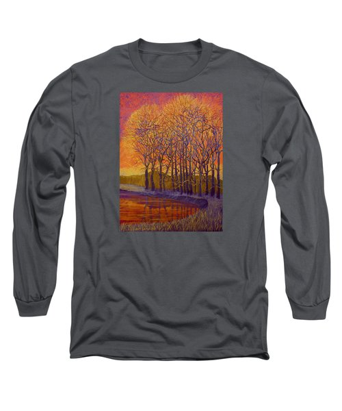 Still Waters Long Sleeve T-Shirt by Jeanette Jarmon