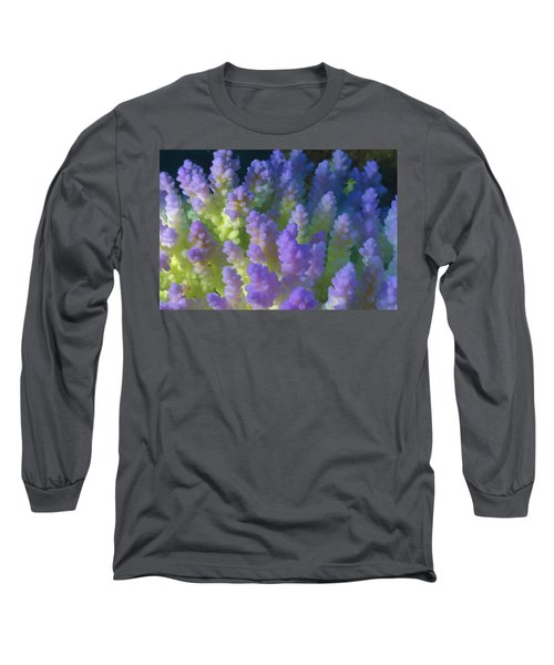 Stony Coral Acropora Sp Bleached Long Sleeve T-Shirt