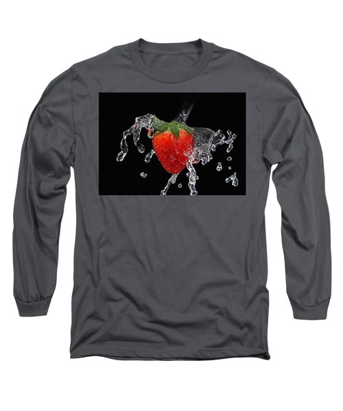 Strawberry-splash Long Sleeve T-Shirt