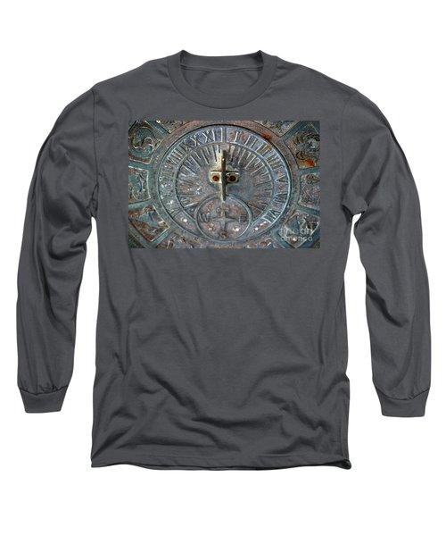 Sundial Long Sleeve T-Shirt by Henrik Lehnerer