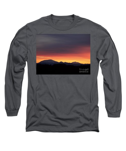 Long Sleeve T-Shirt featuring the photograph Sunrise 3 by Chalet Roome-Rigdon