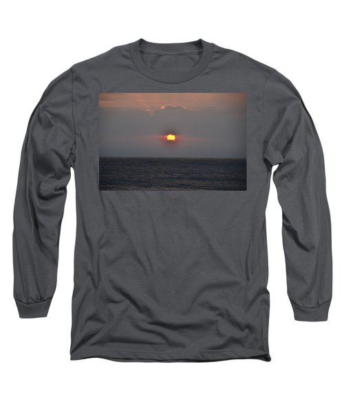 Sunrise In Melbourne Fla Long Sleeve T-Shirt by Randy J Heath