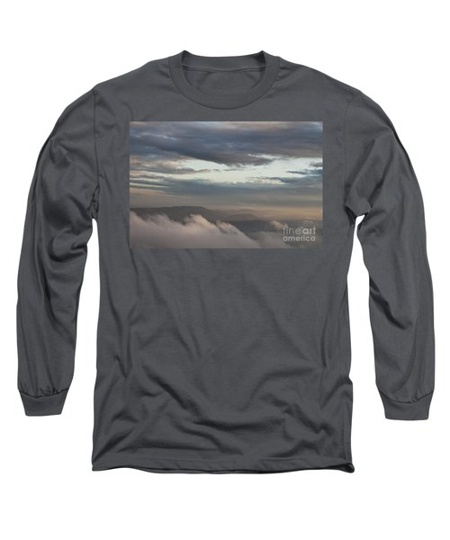 Long Sleeve T-Shirt featuring the photograph Sunrise In The Mountains by Jeannette Hunt