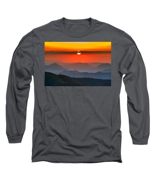 Sunset In Balkans Long Sleeve T-Shirt