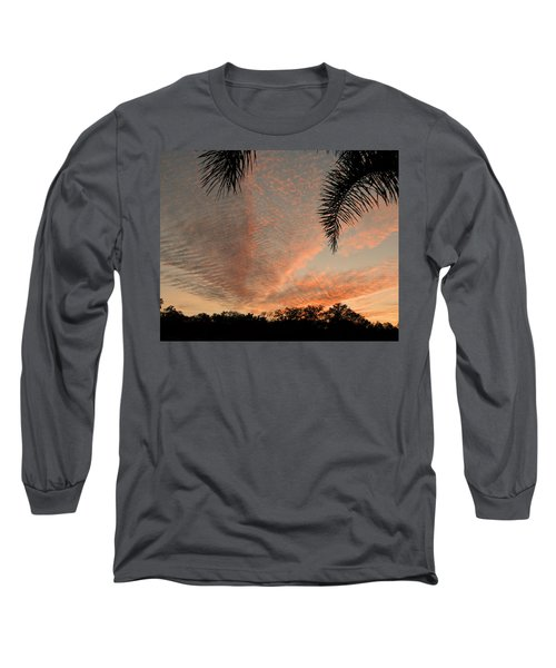 Sunset In Lace Long Sleeve T-Shirt