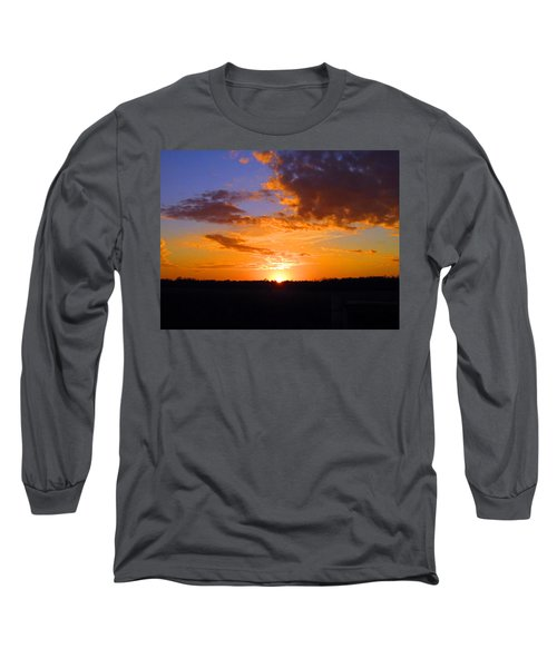 Sunset In Wayne County Long Sleeve T-Shirt