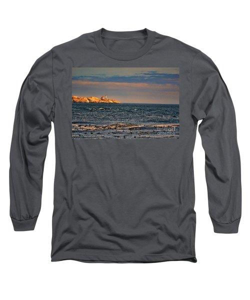 Sunset Over British Columbia Long Sleeve T-Shirt