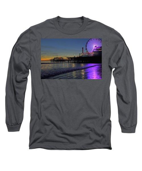 Sunset Purple Long Sleeve T-Shirt