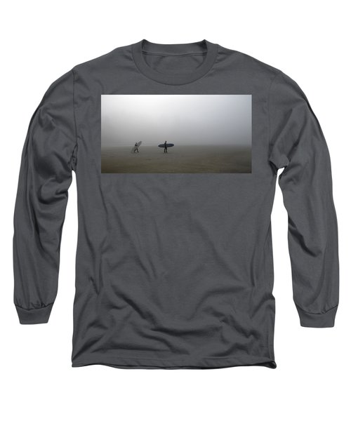 Surfing Into The Abyss Long Sleeve T-Shirt