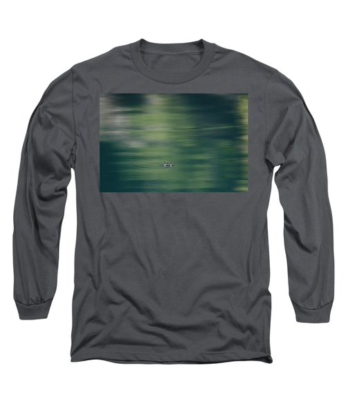 Swimming Beetle Long Sleeve T-Shirt