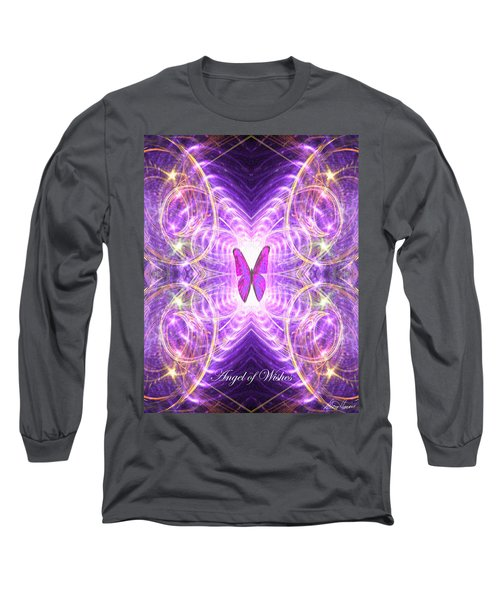The Angel Of Wishes Long Sleeve T-Shirt