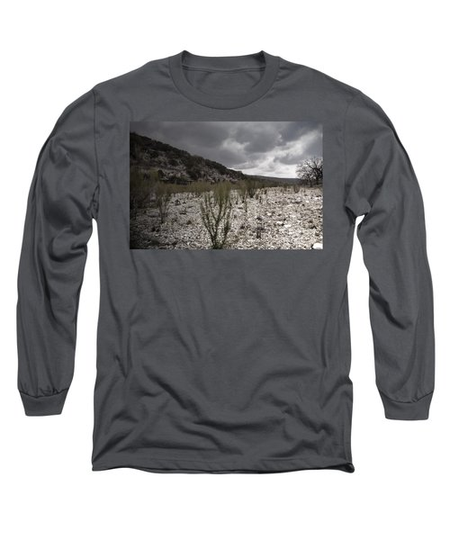 The Bank Of The Nueces River Long Sleeve T-Shirt