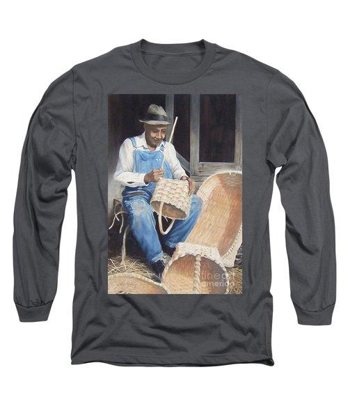 The Basket Maker ...sold  Long Sleeve T-Shirt