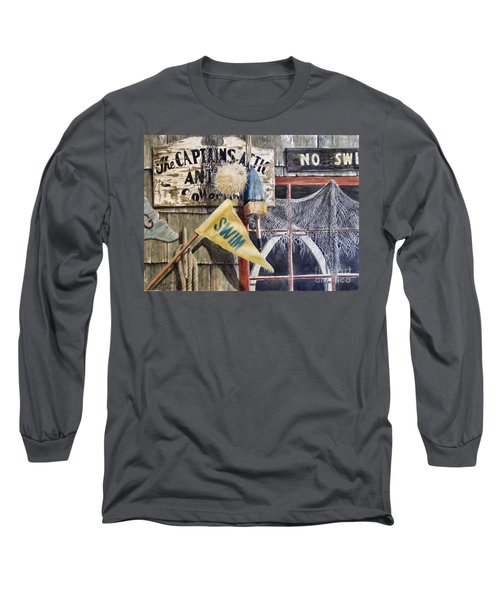 The Captains Attic Sold Long Sleeve T-Shirt