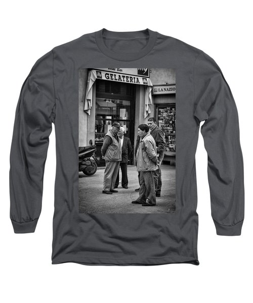 Long Sleeve T-Shirt featuring the photograph The Conference by Hugh Smith