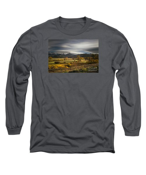 Long Sleeve T-Shirt featuring the photograph The Dallas Divide by Keith Kapple