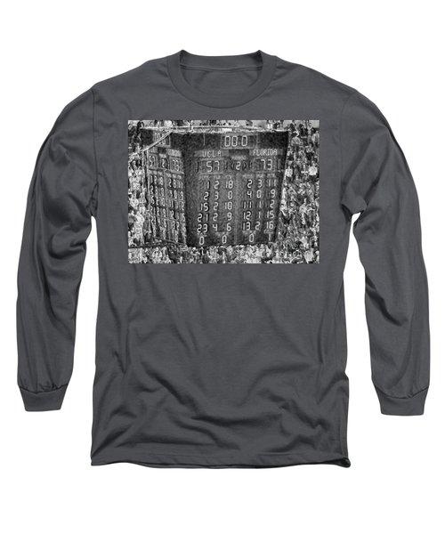 The Final Score- N C A A  Basketball Long Sleeve T-Shirt