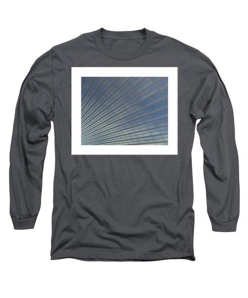 Long Sleeve T-Shirt featuring the digital art The Hangar... by Tim Fillingim